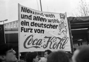 Foto Wolfgang Sünderhauf /Umbruch Bildarchiv - Mauerfall, Berlin 1989