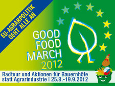 Kampagnenbild goodfoodmarch.eu