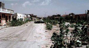 Somalia, Mogadishu 1993. Die Grüne Linie trennte Gebiete verfeindeter Clans. © Ph1 R. Oriez. Public Domain PD, Wikimedia Commons