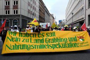 """""""Wir haben es satt!"""" in Berlin - © 2013 Gabi Kellmann, Umbruch Bildarchiv"""